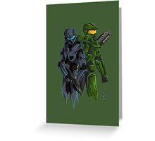 Halo Drawing Greeting Card
