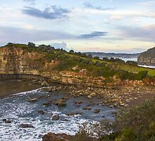 The Skillion Terrigal NSW by Doug Cliff