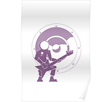 Bass Cadet with Speaker Amp Moon 2 Poster