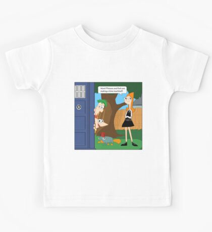 Phineas & Ferb Who Kids Tee