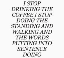 Lorelai coffee philosophy Baby Tee