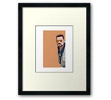 Walter Sobchak Framed Print