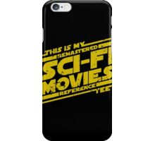 Sci-fi Movie Tee iPhone Case/Skin