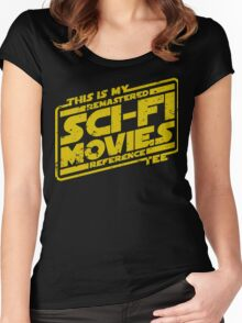 Sci-fi Movie Tee Women's Fitted Scoop T-Shirt