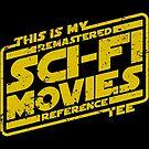 Sci-fi Movie Tee by D4N13L