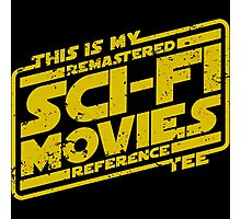 Sci-fi Movie Tee Photographic Print