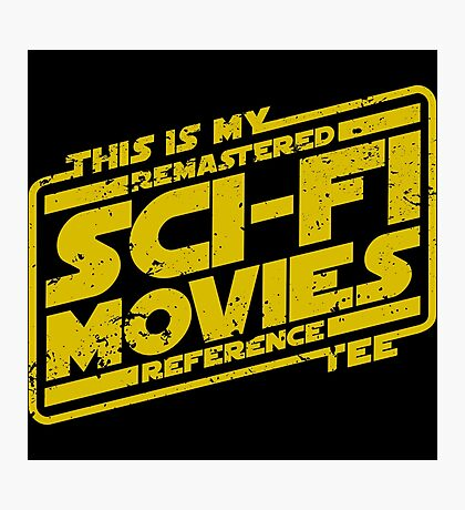 Sci-fi Movie Tee Photographic Print