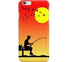 Childhood dreams, Fishing - Phone Case iPhone Case/Skin