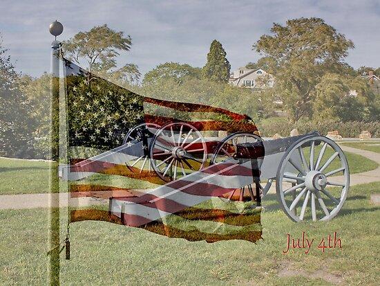 July 4th - God Bless America by AnnDixon