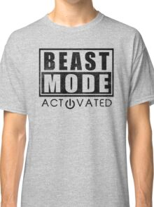 Beast Mode Bodybuilding Gym Sports Motivation Classic T-Shirt