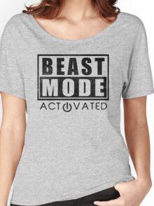 Beast Mode Bodybuilding Gym Sports Motivation Women's Relaxed Fit T-Shirt