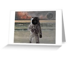 Astronaut Space Mission Greeting Card