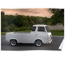 1962 Ford Econoline Pickup Truck Poster