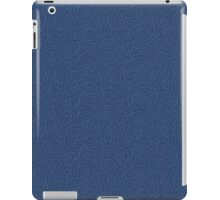 Blue ornamental pattern iPad Case/Skin