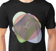 Spiral Moiré Unisex T-Shirt