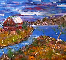 The Old Barn by Denise Tomasura