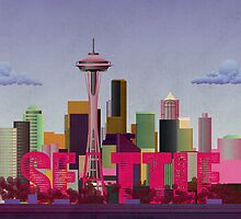 Seattle by Wyattdesign