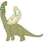Brachiosaurus-Ra by Anuviel