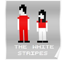 The White Stripes Pixel. Poster