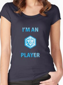 ingress player Women's Fitted Scoop T-Shirt
