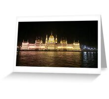 Parliament Building Budapest Greeting Card
