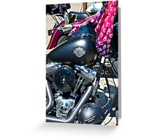 Harley Greeting Card