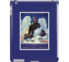 O'Er The Ramparts We Watch -- Army Air Forces iPad Case/Skin