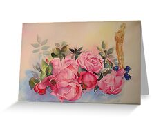 MELODIE FOR ROSES Greeting Card