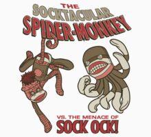 Socktacular Spider-Monkey Kids Clothes