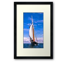 Charging Ahead 1 Framed Print