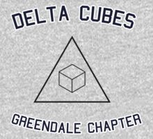 Delta Cubes (Greendale chapter) tee by wordofshay