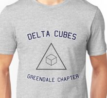 Delta Cubes (Greendale chapter) tee Unisex T-Shirt
