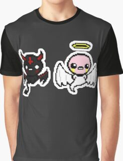 The Binding of Isaac - Angel and Devil Graphic T-Shirt