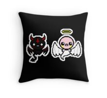 The Binding of Isaac - Angel and Devil Throw Pillow