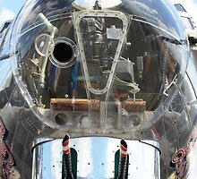 B-17 Nose Gunner by Dave Adams