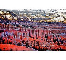 Bryce Canyon, Utah Photographic Print