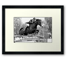 Concentration Framed Print