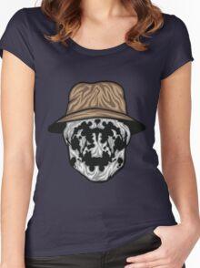 Rorschach Mask Women's Fitted Scoop T-Shirt