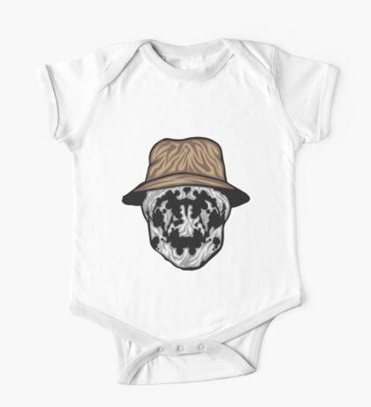 Rorschach Mask One Piece - Short Sleeve