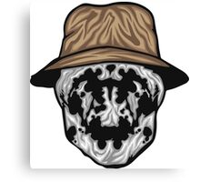 Rorschach Mask Canvas Print