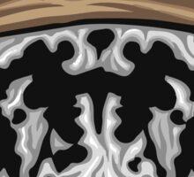 Rorschach Mask Sticker