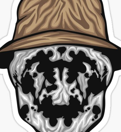 Rorschach Mask Sticker