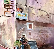 Morocco - Essaouira Street Corner by Goodaboom