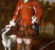 Portrait of Kenneth Sutherland, 3rd Lord Duffus (d.1732), by Waitt, Richard (fl.1708-30)  by Bridgeman Art Library