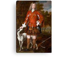 Portrait of Kenneth Sutherland, 3rd Lord Duffus (d.1732), by Waitt, Richard (fl.1708-30)  Canvas Print