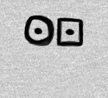 Hobo Symbol: Ill-Tempered Man Unisex T-Shirt