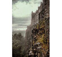 Misty Castle Photographic Print