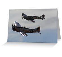 Bearcat & Spitfire Greeting Card