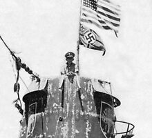 Old Glory Flies over the U-505 1944 (photo) by Bridgeman Art Library