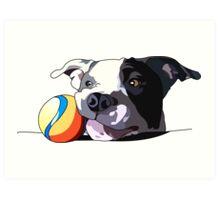 It's a dog's life Art Print